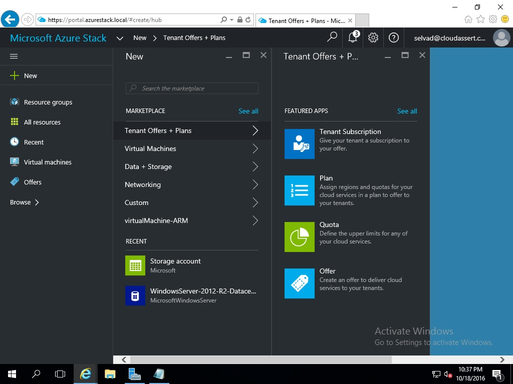 Microsoft Azure Stack Technical Preview 2