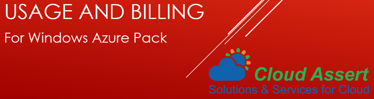 Usage and Billing for Windows Azure Pack